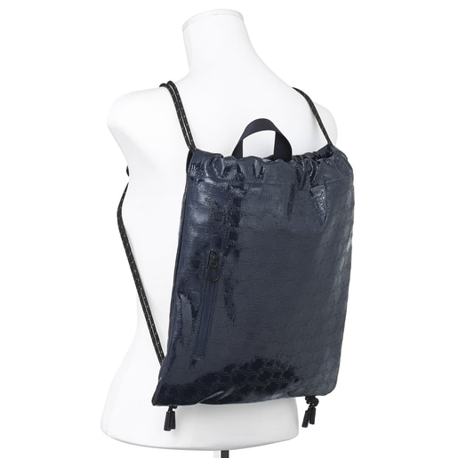 Navy blue TOUS Urban flat backpack