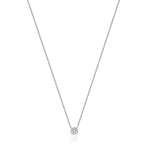 Collier Alecia en Or blanc avec Diamants