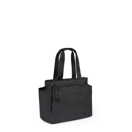 Mommy Bag Kaos Mini Sport negro-gris