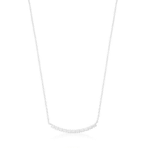 Collar Straight de Plata