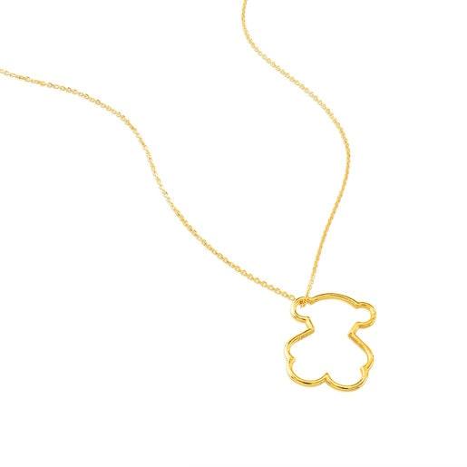 Collar Silueta de Oro